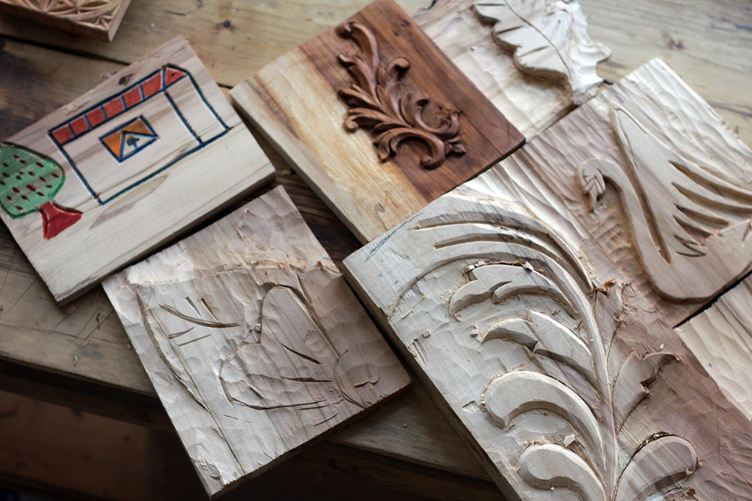 Chip carving patterns read n try